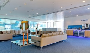 Reception with Executive Lounge Bank Street